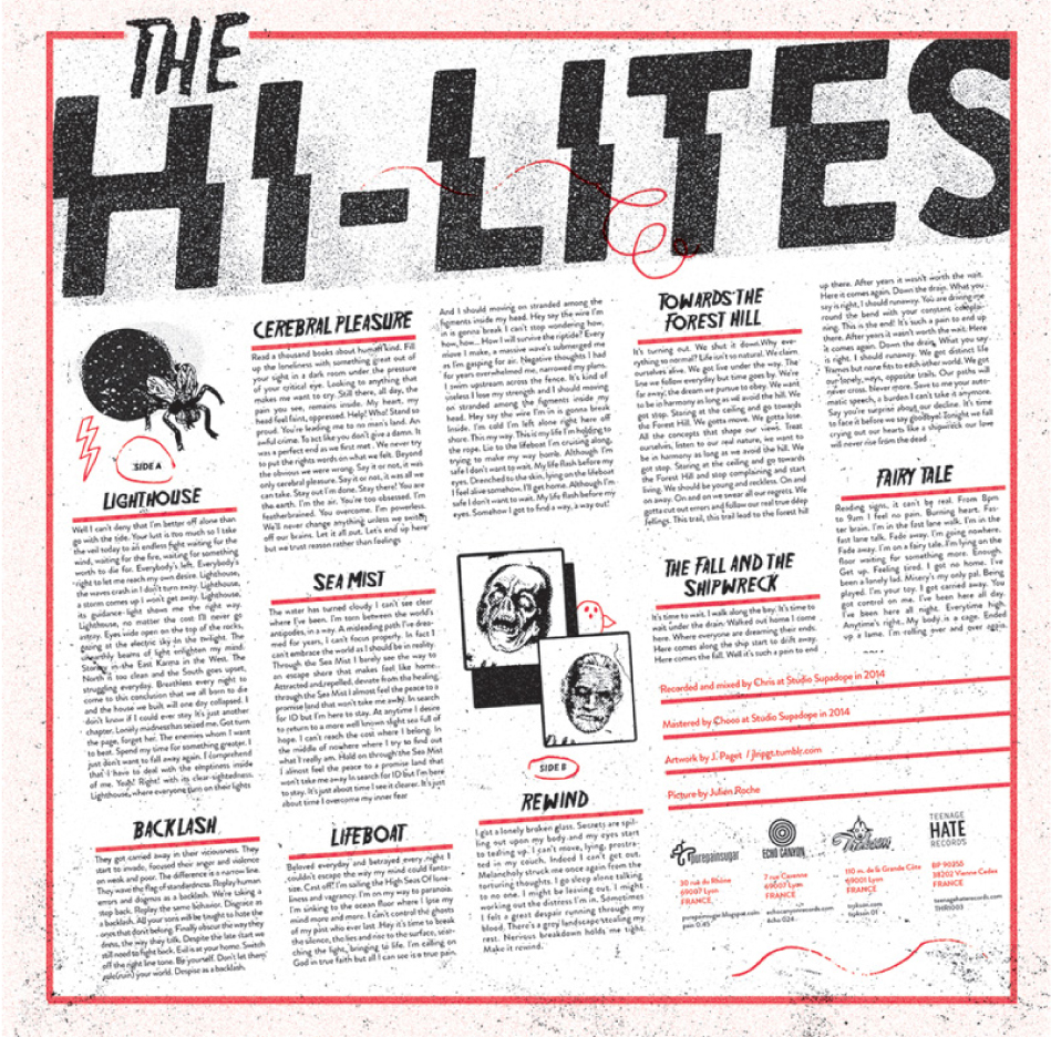 ECHO 024 | THE HI-LITES s/t 12""