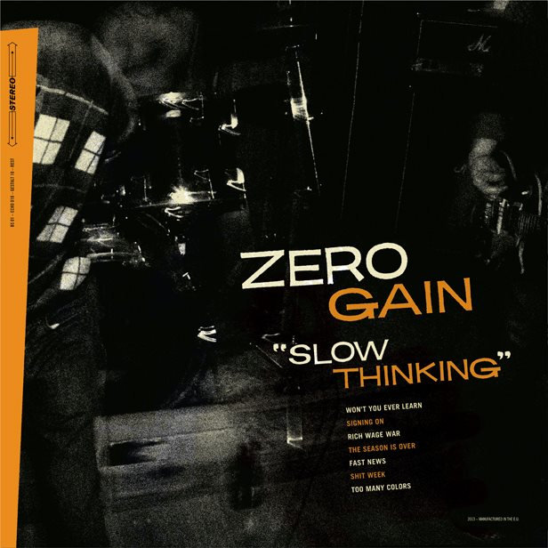 ECHO 018 | ZERO GAIN slow thinking 12""